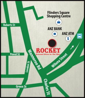 Rocket Gourmet Pizza Yokine Location